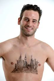 manscaping shaved chest hair skyline nyc